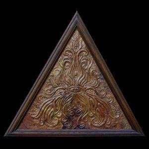 copper repousse art